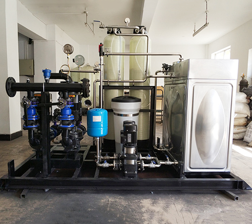 燃气锅炉配套一体化设备